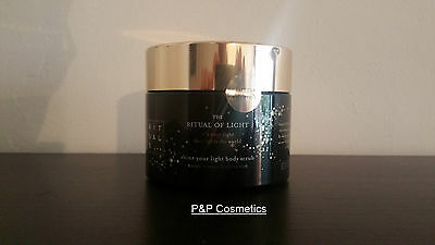Rituals The Ritual of Light Body Scrub Limited Edition Winter 2016 375 G 13.2 OZ