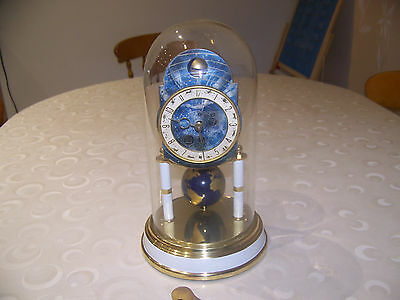 Rare Kaiser Universe World Clock 400 Day Clock German Anniversary Clock