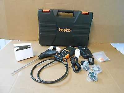 Testo 310 Combustion Flue Gas Analyzer Kit.  SOLD AS PICTURED FREE SHIPPING