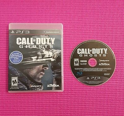 Call of Duty: Ghosts (Sony PlayStation 3, 2013) ps3