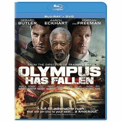 Olympus Has Fallen (Blu-ray/DVD, 2013, 2-Disc Set)  NEW