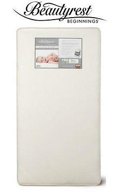Simmons Kids Beginnings Silver Glow Infant & Toddler Mattress Crib Comfort Firm