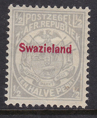 Swaziland 1892 Mint MH Part Set Definitive South Africa Red Overprint Swazieland