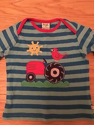Frugi Long Sleeved T-Shirt 12-18 Months
