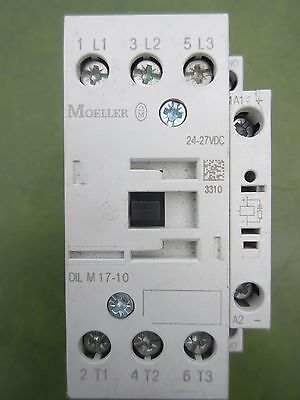 Auxillary Contact Module Moeller Dil M(C)17 M 17-10