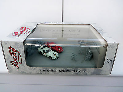BANG Goodwood Tourist Trophy 1962 Diorama Limited Edition 1,43 scale Rare