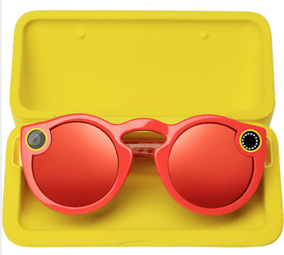 Snapchat Glasses Spectacles RED + Full Kits UK Stock 1st class postage