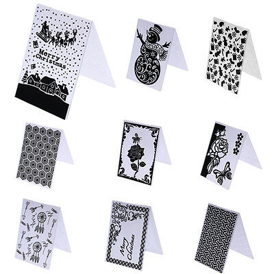 Plastic Cutting Dies Embossing Template Scrapbooking Photo Album DIY Card Craft