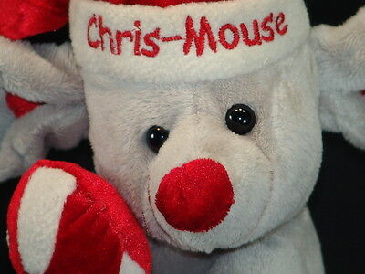 Dandee Baby First Christmas Christ-Mouse Mouse Plush Stuffed Animal Toy