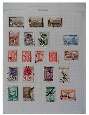 Argentina Nice Old collection on 7 pages unchecked