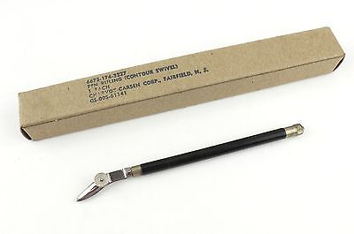 Vintage Charvoz Drafting Ruling Pen Curved Swivel Germany NEW in Box