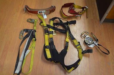 Industrial Climbing Harness w/ Lifeline, Harness and Lanyards, Klein, Guardian
