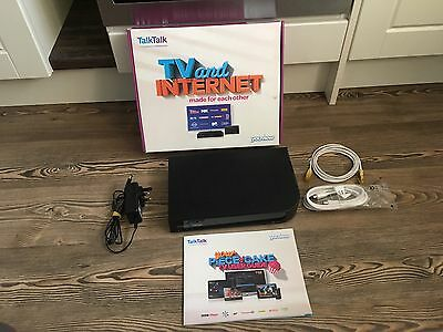 TalkTalk Plus TV Youview DN372T Freeview Box, Very Good Condition