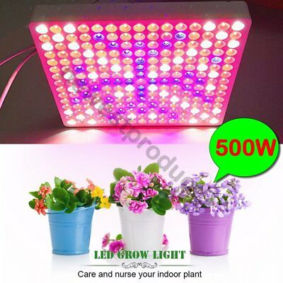 500W 2835 Full Spectrum LED Grow Light Panel For Hydroponic Medical Plants Bloom