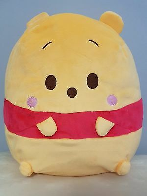 """Disney Winnie The Pooh Backpack - Soft, Cute and Unique 16"""" NWT from Japan"""