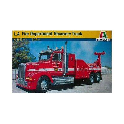 Italeri 1/24 L.A. Fire Department Recovery Truck Kit ITA-03843 (New)