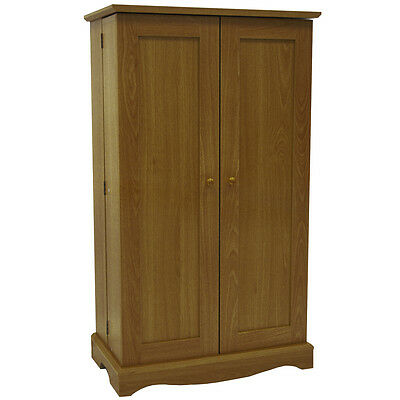 Richmond Media CD DVD Storage Cabinet OAK MS0497