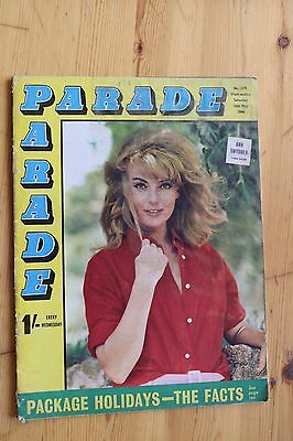 Magazine PARADE 1966 Cover Ann Smyrner Poster Madge Sweet Rusty Laing