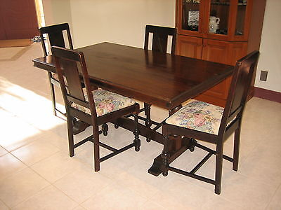 Vintage Retro Dining Table And Chairs AUD PicClick AU