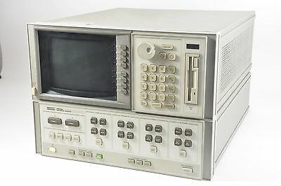 HP Agilent 8530A Microwave Receiver / IF Detector w/ 85101C / Display Processor