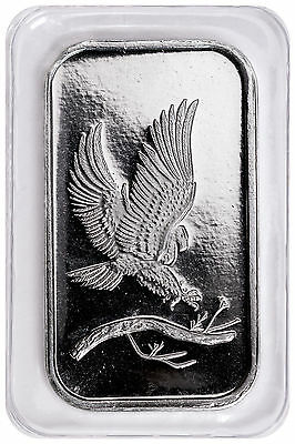 SilverTowne Mint Eagle Design 1 oz .999 Fine Silver Bar SKU48242
