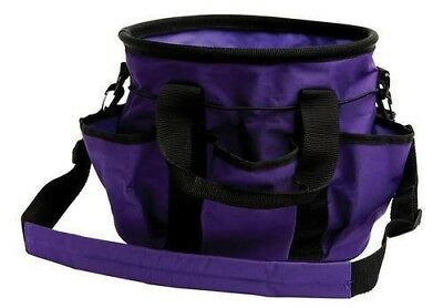 Roma Horse Grooming Tool Water-Repellent Carry Bag Pockets and Shoulder Strap