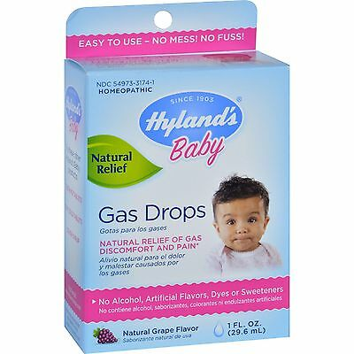 Hylands Homeopathic Baby Gas Drops - 1 fl oz-1548510