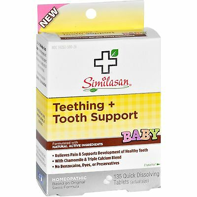 Similasan Baby Teething and Tooth Support - 135 Tablets-1636976