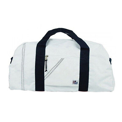 Sailorsbag Outdoor Travel Luggage Carrying Sailcloth Large Square Duffel Blue-15
