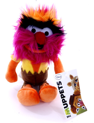 """New Official 8"""" Animal From The Muppets Plush Soft Toy Friend Of Kermit"""