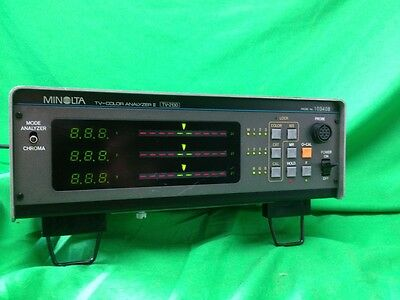 Minolta TV Color Analyzer II TV-2130 with Probe 103408