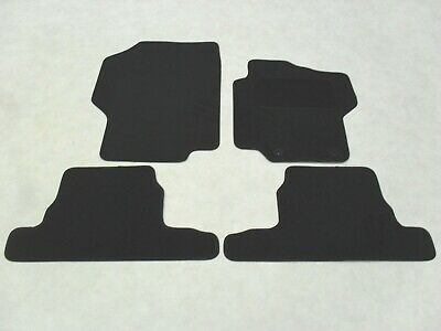 Peugeot 1007 2005-2009 Fully Tailored Deluxe Car Mats in Black.
