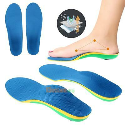 1 Pair Orthotic Insert Arch Support Pad Flat foot Corrector Shoe Insole Cushion