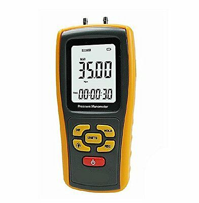Pressure Manometer, YH-THINKING Portable LCD Display Differential Pressure Gauge