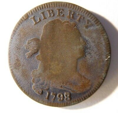 1798 Draped Bust Cent S-151 R-3