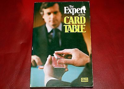 The Expert At The Card Table Erdnase Coles 1980 Edition Canadian Book
