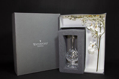 """Waterford Crystal Mother's Day 7"""" Spring Vase with Flower Bouquet - NIB"""