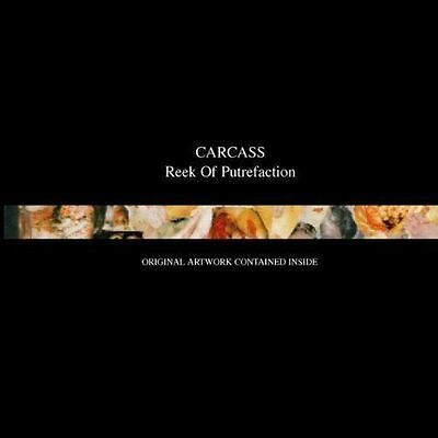 CARCASS Reek Of Putrefaction CD BRAND NEW