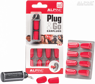 Alpine Plug & Go Earplugs - New For 2018