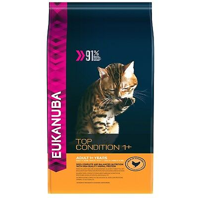 10kg EUKANUBA Cat Top Condition 1+ Katzenfutter