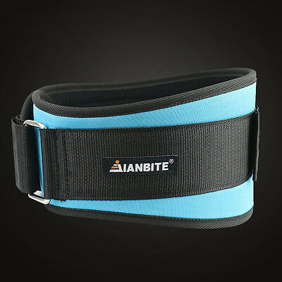 Weight Lifting Belt Gym Lower Back Support Bodybuilding Fitness Training 6 Inch