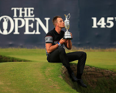 Henrik Stenson 02 Holding The Claret Jug (Golf)  Photo Prints And Mugs