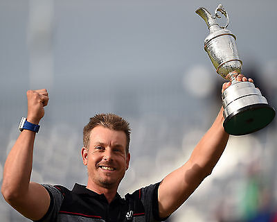 Henrik Stenson 03 Holding The Claret Jug (Golf)  Photo Prints And Mugs
