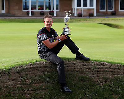 Henrik Stenson 07 Holding The Claret Jug (Golf)  Photo Prints And Mugs