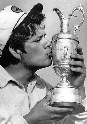 Lee Trevino 01 Holding The Claret Jug (Golf)  Photo Prints And Mugs