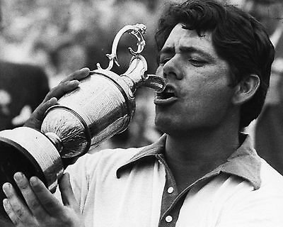 Lee Trevino 02 Holding The Claret Jug (Golf)  Photo Prints And Mugs