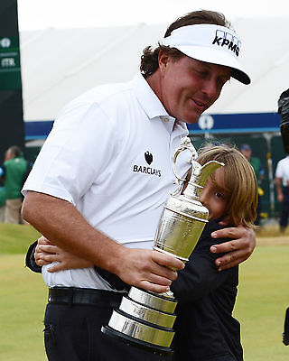 Phil Mickelson 06 Holding The Claret Jug (Golf)  Photo Prints And Mugs