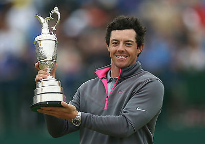 RORY McLLROY 01 HOLDING THE CLARET JUG (GOLF)  PHOTO PRINTS AND MUGS