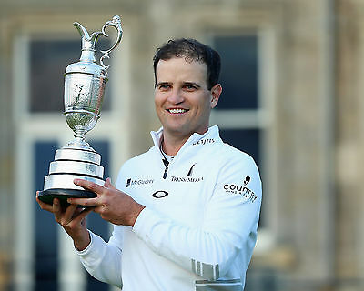 Zach Johnson 02 Holding The Claret Jug (Golf)  Photo Prints And Mugs