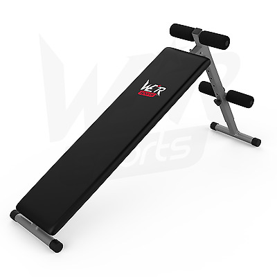Foldable Sit Up Bench Abdominal Weight Bench Ab Crunch Home Gym Fitness Exercise